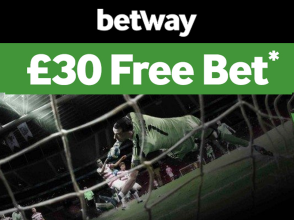 BetWay £30 Free Bet
