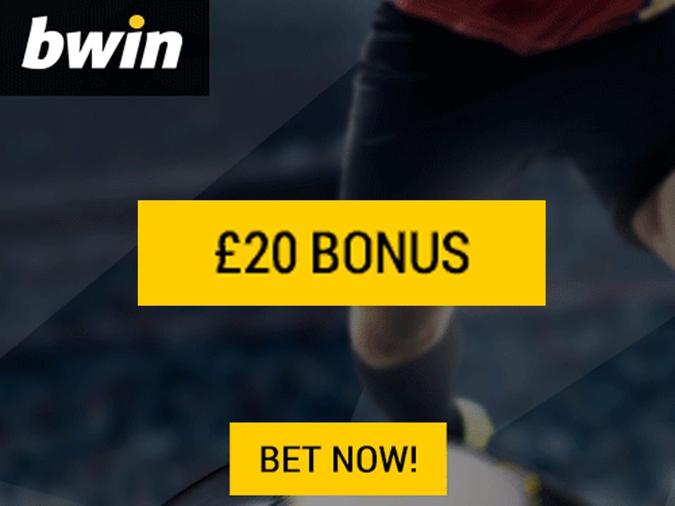 bwin £20 Welcome Bonus
